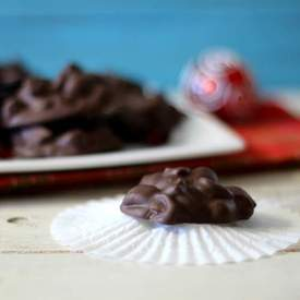 Chocolate Cranberry Nut Candy