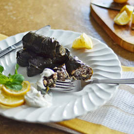 Stuffed Grape Leaves (Dolma)