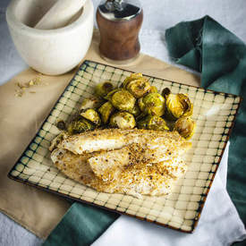 Fennel and Coriander Crusted Fish