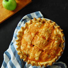 Cheddar Topped Apple Pie