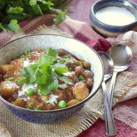 Indian Curry Potato Soup