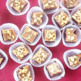 Vegan Gluten Free Chocolate Peanut Butter Fudge