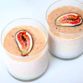 Fig Honey Yogurt Smoothie Recipe