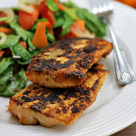 OMG Easy Pan Seared Salmon