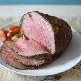 Roast Beef with Carrots and Potatoes