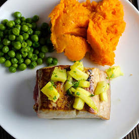 Mahi Mahi with Pineapple Salsa