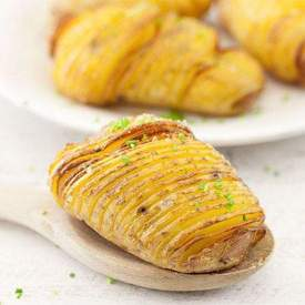 Hasselback potatoes from Stockholm