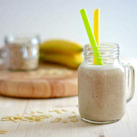 Banana and Almond Smoothie