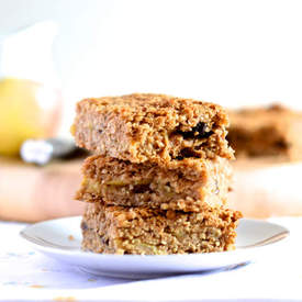 Apple Crumble Flapjack