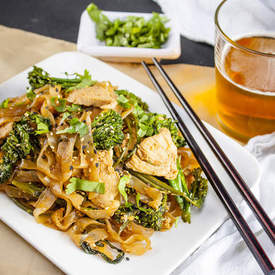 Shirataki Chicken Pad See Ew
