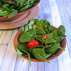 Spinach Salad With Honey Dijon