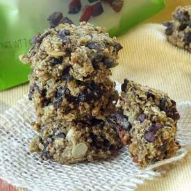 Cacao Nib Dried Plum Quinoa Cookies