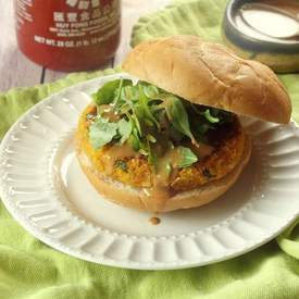 Thai Massaman Curry Butternut Burgers