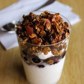 Blueberry Granola Parfaits