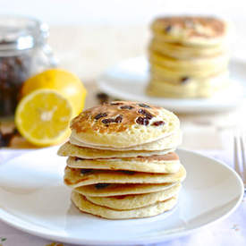 Lemon and Raisin Pancake