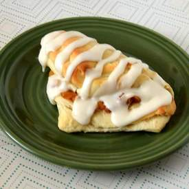 Apple Pie Crescent Turnover