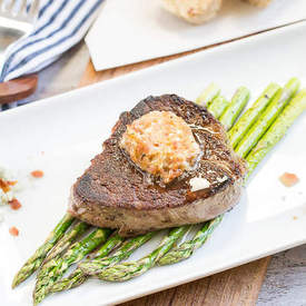 Bacon & Blue Cheese Compound Butter Filet