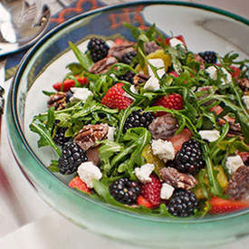 Arugula, Berry and Citrus Salad