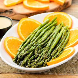 Roasted Asparagus with Orange Glaze