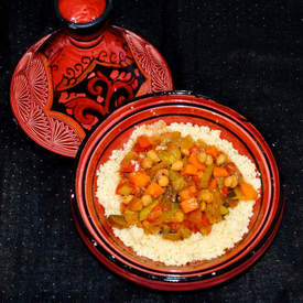 Cous Cous Seven Vegetable Stew
