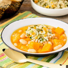 Butternut Squash White Bean Soup