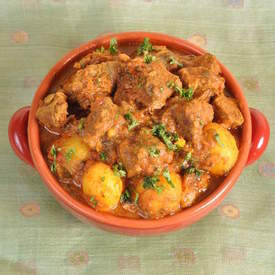 Lamb Curry With Baby Potatoes
