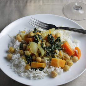 Kale & Butternut Curry