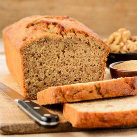 Amaranth Banana Nut Quick Bread