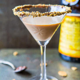 Creamy Nutella Martini