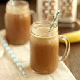 Peanut Butter Chocolate Protein Smoothie