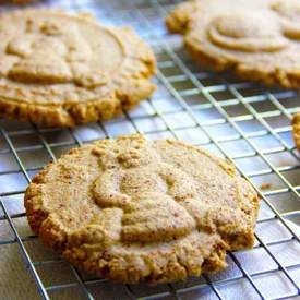 Cinnamon Spiced Almond Meal Cookies