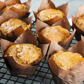 Mulberry Superfood Muffins