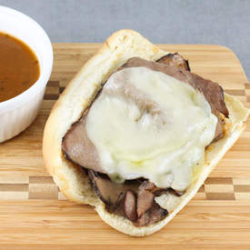 Easy French Dip Sandwich