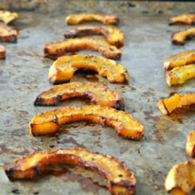 Delicata Squash Oven Fries