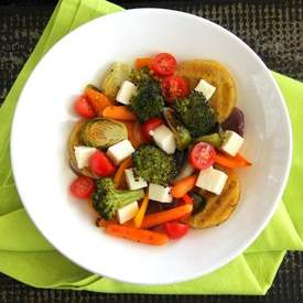 Panela Polenta Vegetable Bowl