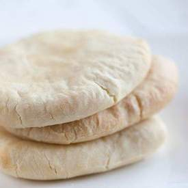 Home-made pitas