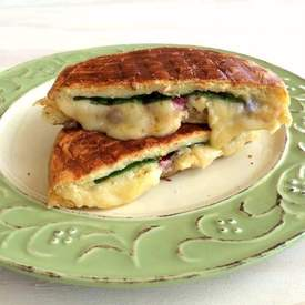 Dubliner Grilled Cheese with Chard