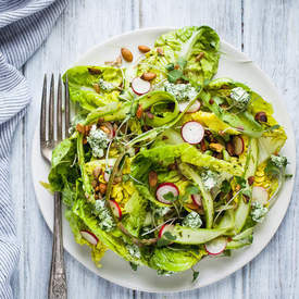 Little Gem Spring Salad