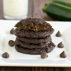 Flourless Chocolate Zucchini Cookies