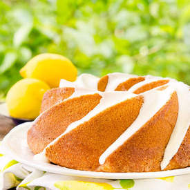 Triple Lemon Bundt Cake