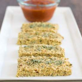 Quinoa Almond Herbed Bread Sticks