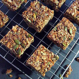 Cranberry Coconut Granola Bars