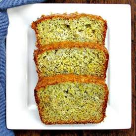 Lemon Poppy Seed Squash Bread