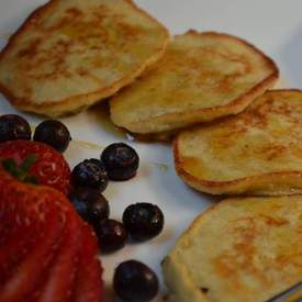 3 Ingredient Banana Pancakes Gluten Free