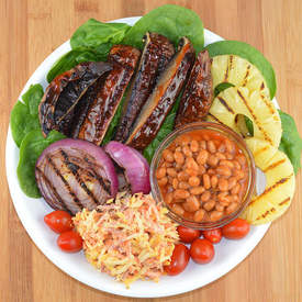 Barbecue Portobello Bowl
