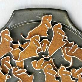 Pumpkin Peanut Butter Dog Biscuits