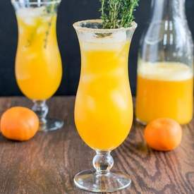 Orange Thyme Mocktail
