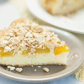 SWEDISH APRICOT AND ALMOND CAKE
