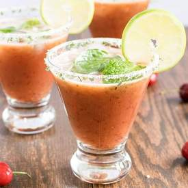 Watermelon Cherry Cooler