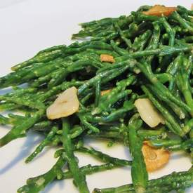 Garlic and Lemon Samphire